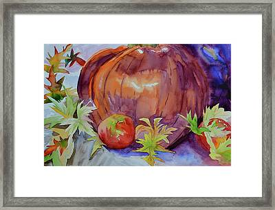Framed Print featuring the painting Awaiting by Beverley Harper Tinsley