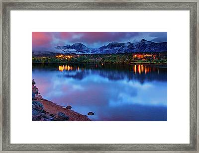 Awaiting Dawn Framed Print by John De Bord