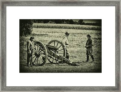 Awaiting Orders Framed Print by Bill Cannon