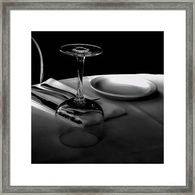 Awaiting Romance Framed Print by David Patterson