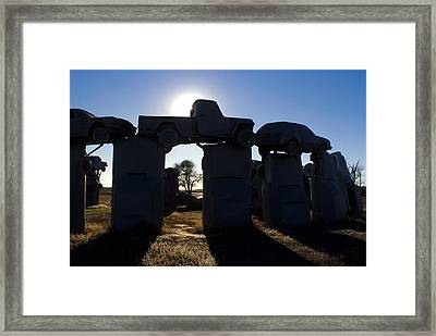 Awaiting The Aliens Framed Print by Jerry McElroy