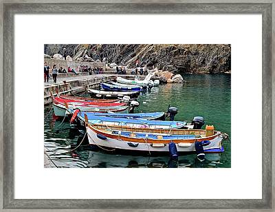 Awaiting The Fisherman Framed Print