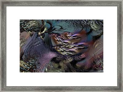 Awaiting The Wraith Framed Print by Casey Kotas