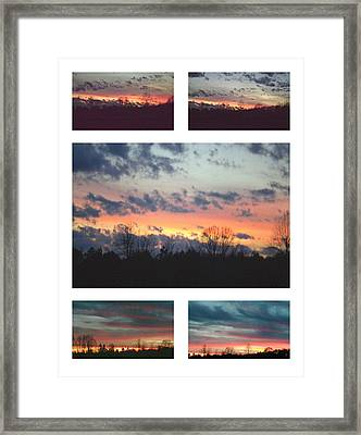 Framed Print featuring the photograph Awaitng Dust by Robin Coaker
