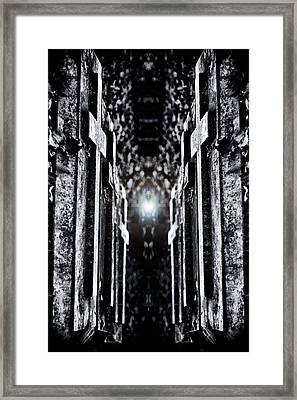 Awaits The Light Framed Print
