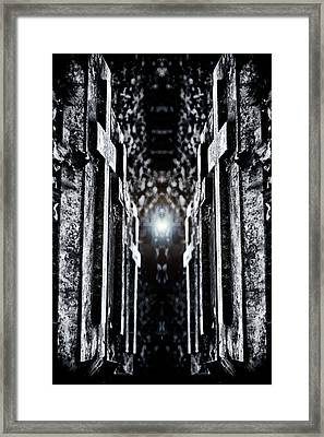 Awaits The Light Framed Print by Scott  Wyatt