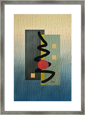 Awake Framed Print by Gordon Beck