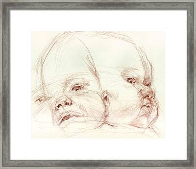 Awake Framed Print by Sarah Madsen