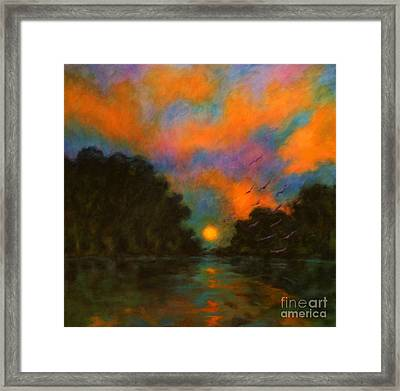 Awaken The Dream Framed Print