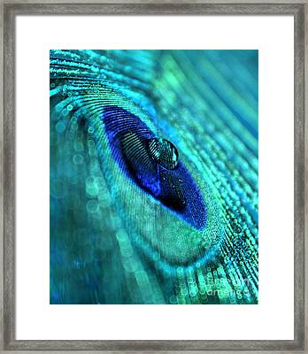 Awaken The Mystery Framed Print by Krissy Katsimbras
