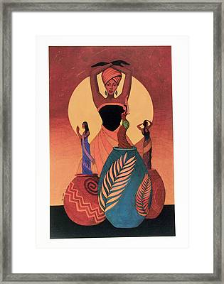 Awakening Framed Print by Albert and Simone Fennell
