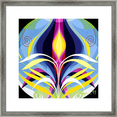 Awakening Detail Framed Print