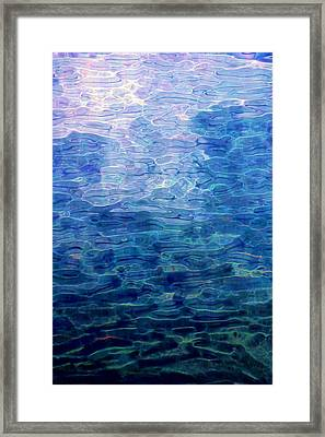Awakening From The Depths Of Slumber Framed Print by David Lane