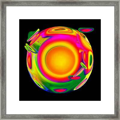 Awakening Framed Print by Jacqueline Migell