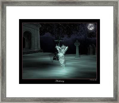 Awakening Framed Print by John Shioli
