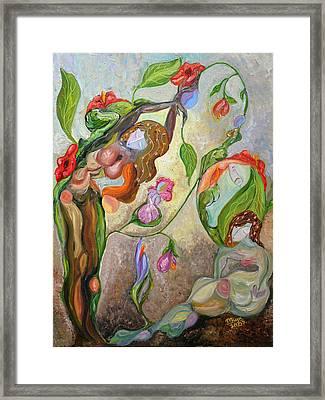 Awakening Framed Print by Mila Ryk