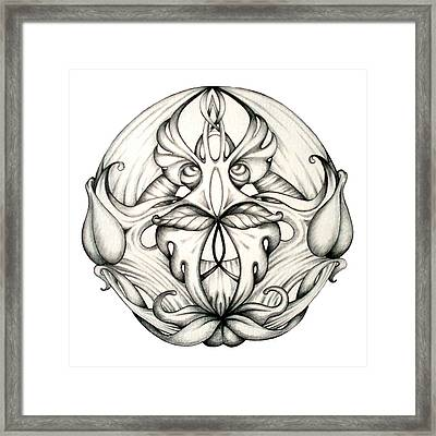 Awakening Framed Print by Shadia Derbyshire