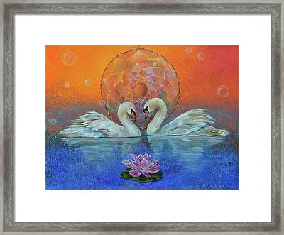 Awakening To The Beauty Within Framed Print