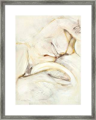 Award Winning Abstract Nude Framed Print