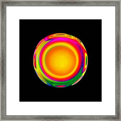 Awareness - 2 Framed Print by Jacqueline Migell