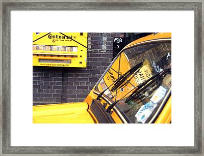 Away Abroad Framed Print by Jez C Self
