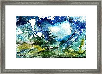 Framed Print featuring the painting Away by Anne Duke