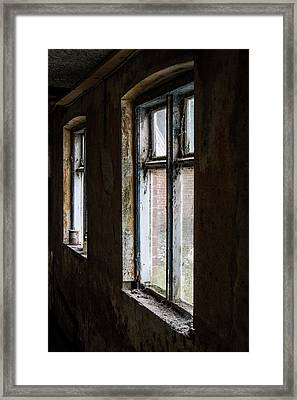 Framed Print featuring the photograph Away From The World by Odd Jeppesen