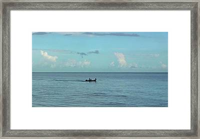 Away We Go Framed Print