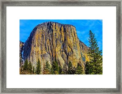 Awesome El Capitan  Framed Print by Garry Gay