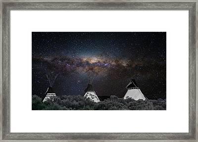 Awesome Skies Framed Print by Carolyn Dalessandro