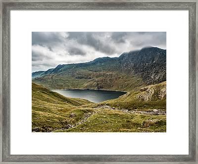 Awesome Hike Framed Print
