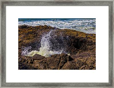Awesome Thor's Well Framed Print