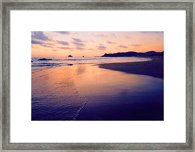 Awesome Zipolite Sunset 2 Framed Print
