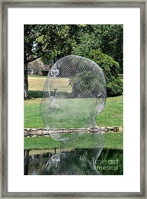 Jaume Plensa - Awilda And Irma Framed Print by Wanda-Lynn Searles
