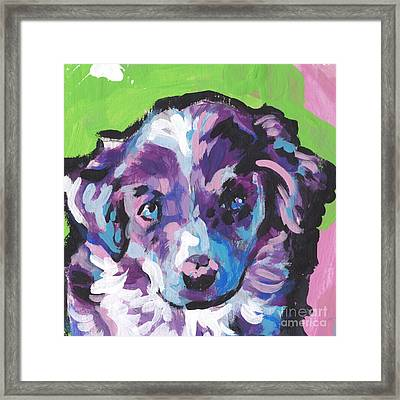 Awww See Baby Framed Print by Lea S