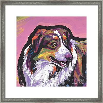 Oh Say Aussie Framed Print by Lea S