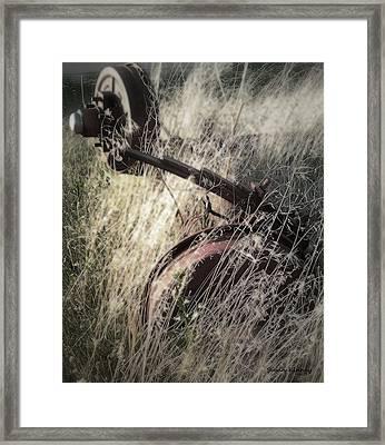Axel Framed Print
