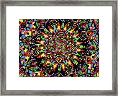 Axis Of Change Framed Print
