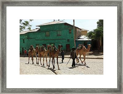 Axum, Ethiopia, East Africa Framed Print