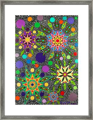 Ayahuasca Vision May 2015 Framed Print