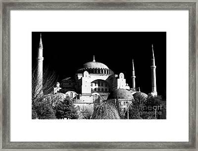 Ayasofya Framed Print