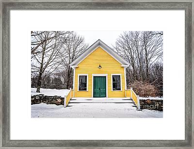 Ayers Lake Framed Print by Scott Thorp