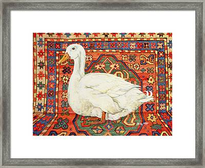 Aylesbury Carpet Drake Framed Print by Ditz