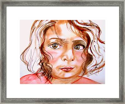 Ayse Framed Print