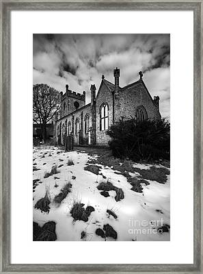 Aysgarth Church Framed Print by Nichola Denny