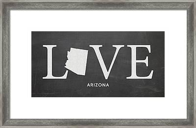 Az Love Framed Print