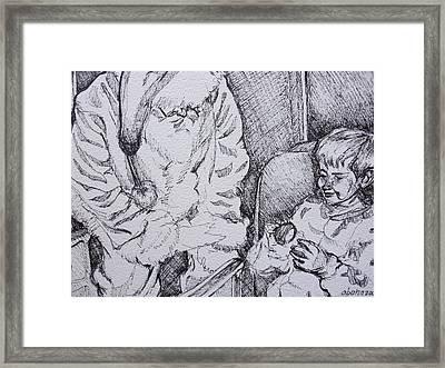 Az Polar Express Framed Print by Aleksandra Buha
