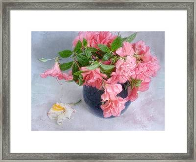 Azalea Time Framed Print