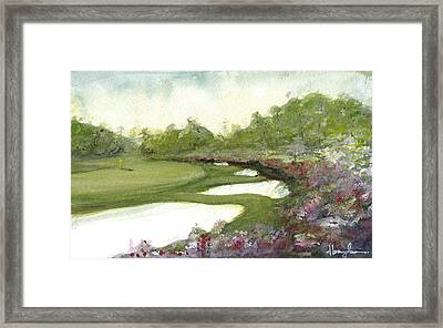 Azaleas Framed Print by Dave Baysden