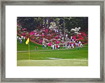 Azaleas In Bloom Framed Print by David Bearden